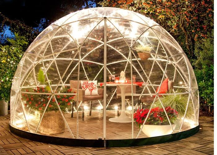 transparent garden igloo clear round dome tent ball tent concert China
