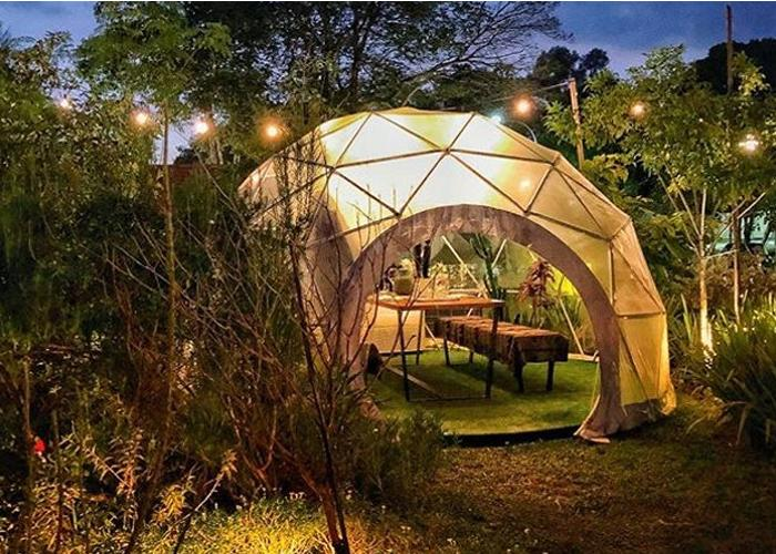 Unique round clear igloo garden home meeting geodesic dome tents