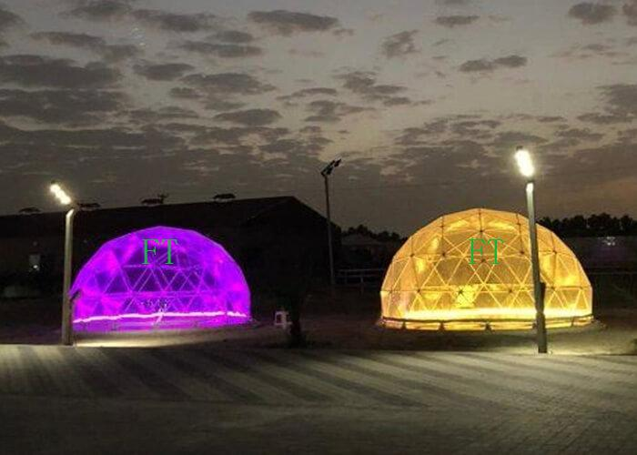 4/5/6m Transparent garden geodesic dome tent/Luxury hotel tent/ Outdoor igloo camping house for sale