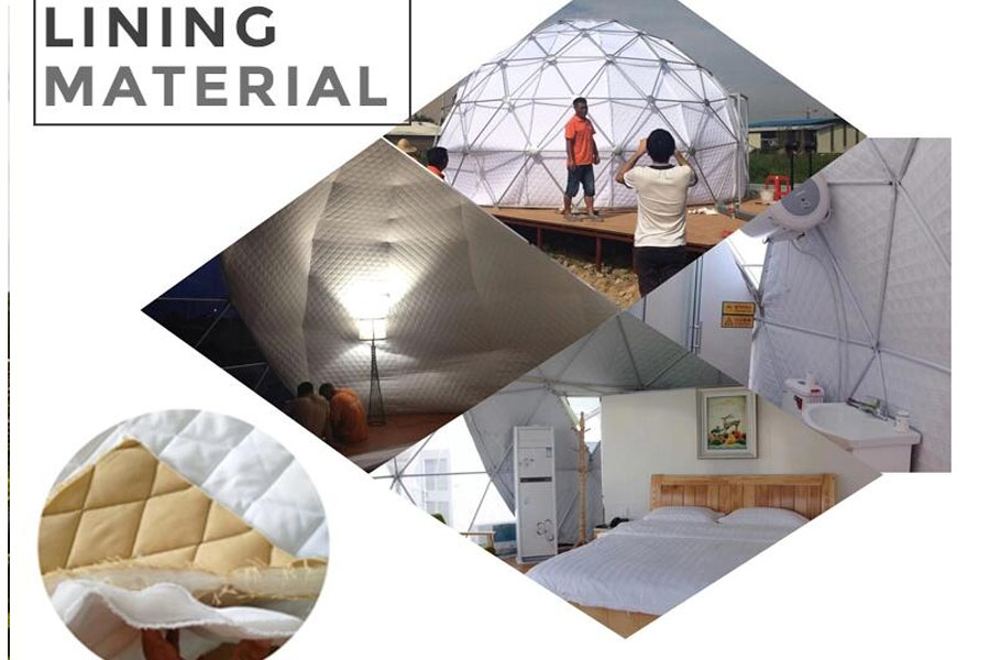 insulation for dome tent