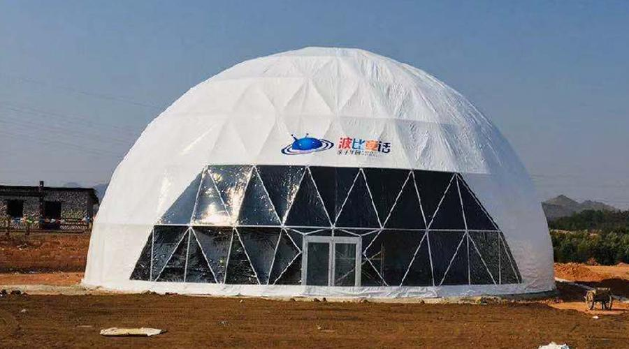 12m outdoor event exhibtion geodesic dome house tent