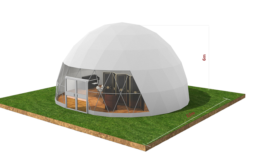 Geodesic dome tent outdoor dome house multi-size customizable