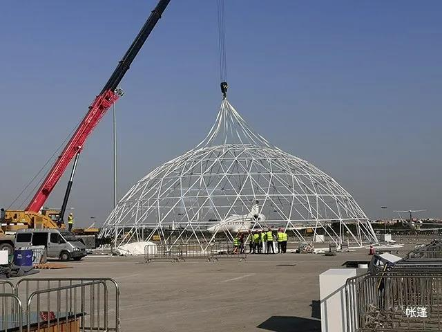30m dome tent