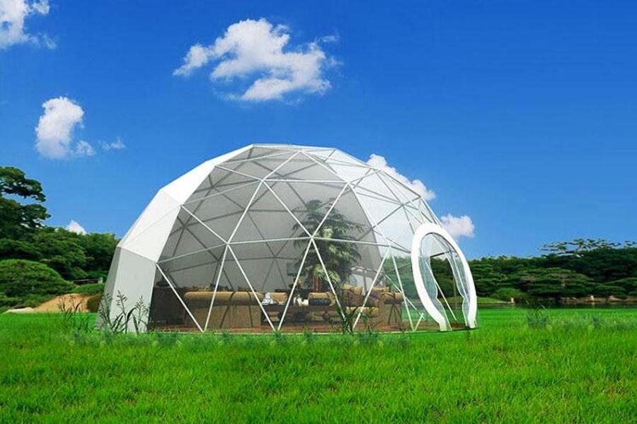 Round PVC Door for Dome Tent
