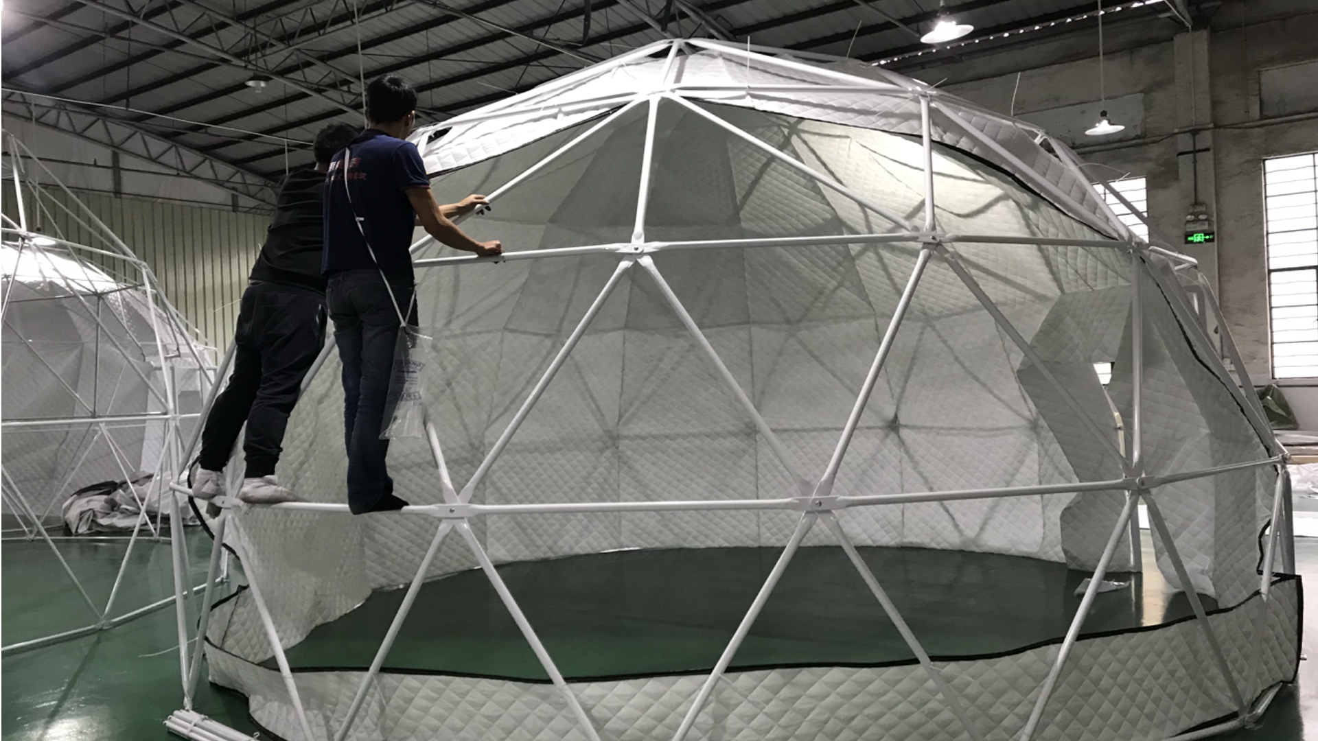 china dome glamping tent